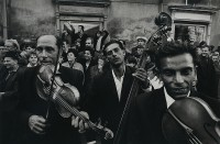 Josef Koudelka, Gypsy Musicians, 1966