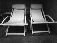 Jack Welpott, Chairs, Arles, France, 1976
