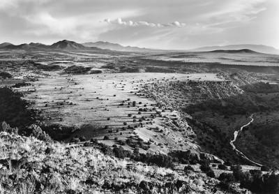 William Clift, La Mesita, from Cerro Seguro, New Mexico 1978