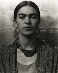Imogen Cunningham, Frida Kahlo, Painter, 1931