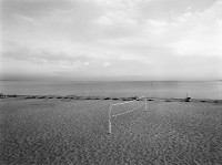 Harry Callahan, Cape Cod (Volleyball Net Without People), 1972
