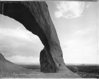 Mark Klett, Beneath the Great Arch, Near Monticello, Utah 1982