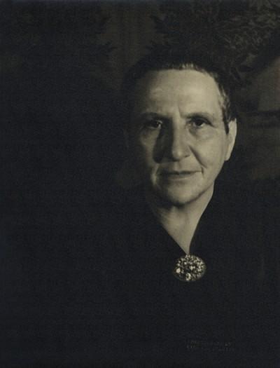 Carl Van Vechten, Getrude Stein, 1934