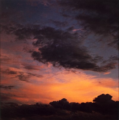 Eliot Porter, Sunset Clouds, Tesque, New Mexico 1959