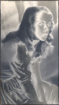 Untitled, Solarized Portrait Of A Young Woman, Circa 1960