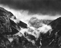 Alan Ross, Bridalveil Fall In Storm, Yosemite, 1974