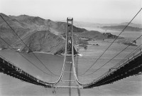 Peter Stackpole - Golden Gate Bridge, circa 1935