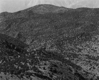 Mark Citret, In The White Mountains, Looking West, 1973
