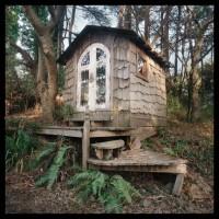 Meditation hut, Druid Heights, Marin County