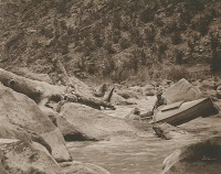 Kolb Brothers, Hells Half Mile, Ladore Canyon, 1912
