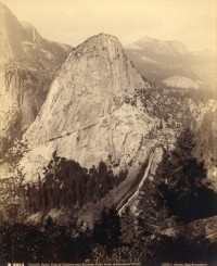 Isaiah West Taber, Clouds Rest, Cap of Liberty and Nevada Falls Anderson's Trail