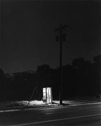 George Tice, Telephone Booth, 3am, Rahway, NJ, 1974
