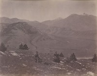 William Henry Jackson, Valley Of The Yellowstone, East, Circa 1872