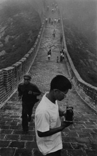 Marc Riboud - China (Great Wall), 1971