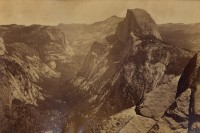 Carleton Watkins, Half Dome From Glacier Point, Yosemite, Circa 1867