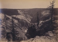 William Henry Jackson, View From East Of Point Lookout, Yellowstone, Circa 1871