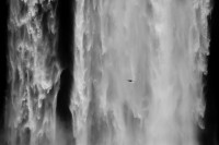 Michele Clement, Iceland, Waterfall detail, 2006