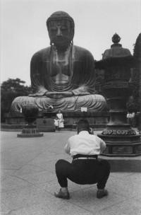 Marc Riboud, The Buddha and the Photographer, Japan, 1958