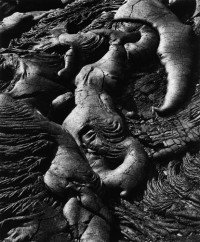 Brett Weston, Lava Flow, Hawaii, 1980