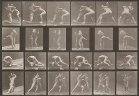Eadward Muybridge, Wrestlers From The Animal Locomotion, Plate 250, circa 1887