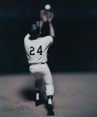 David Levinthal, Willie Mayes, from the series Baseball, 2007