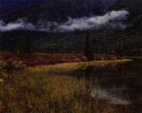 Philip Hyde, Lake near Susitna River, Alaska Range, Alaska, 1971