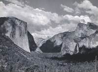 Ansel Adams, Yosemite Valley, Summer, 1936