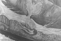 Section of Diego's Rockefeller Center Fresco Showing Life Microcosm, 1933