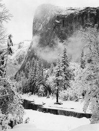 Ansel Adams, El Capitan, Winter, Yosemite National Park, California, 1948