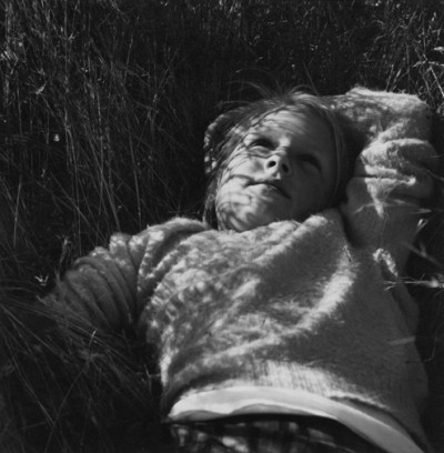 Dorothea Lange, Young Girl (from To a Cabin), 1962