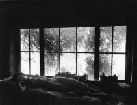 Wynn Bullock - Nude By Sandy's Window, 1956