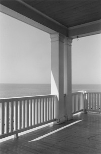George Tice - Porch, Monhegan Island, Maine, 1971
