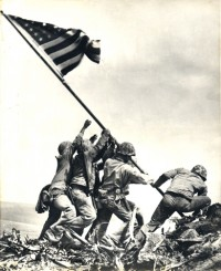 Joe Rosenthal, Raising The Flag On Iwo Jima, 1945