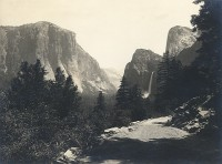 Attributed to Earl Brooks, Bridalveil Falls, Yosemite, California, 1925
