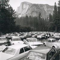 Rondal Partridge, Pave It And Paint It Green, Yosemite National Park, mid 1960's
