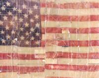 Steve Elner, American Flag, 1996
