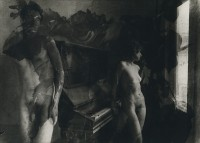 Bill Allard, Vicky Palermo At Piano With Roses Composite, 1964