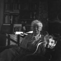 Edmund Teske - Imogen Cunningham, San Francisco, California, 1966