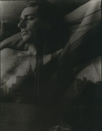 Bill Allard With NYC Brooklyn Bridge, 1976