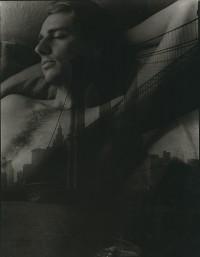 Bill Allard With NYC Brooklyn Bridge, 1976