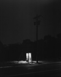 George Tice - Telephone Booth 3am, Rahway, NJ, 1974