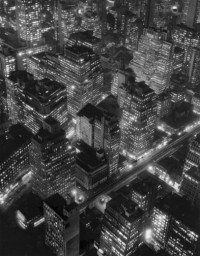 Berenice Abbott, New York At Night, 1932