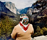 Roger Minick, Woman At Inspiration Point, 1980