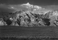 Ansel Adams - Mount Williamson, Sierra, Nevada, from Owens Valley, 1944