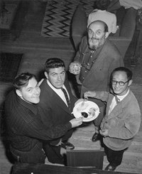 Stan Zrnich, Ansel Adams, Paul Caponigro, Benjamen Chinn, September 1st, 1959