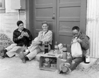 Paul Caponigro, Minor White & Benjamen Chinn, aug 4th 1956