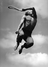 Eric Hawkins as El Flagellante in Martha Graham's El Penitente, 1940