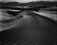 Dunes And Mountains, White Sands, 1944