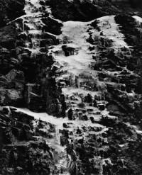 Ice On Rock Face, Japan, 1970