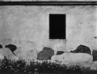 Black Window, Mariposa, California, 1951